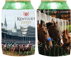 Official Kentucky Derby Icon Collapsible Can Holder | Party Supplies
