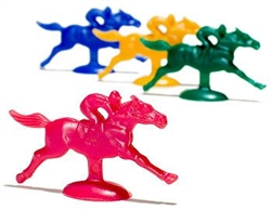 Plastic Horses | Kentucky Derby Decorations
