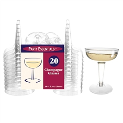 2 Piece Champagne Glasses