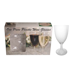 8 oz Wine Box Glass Set