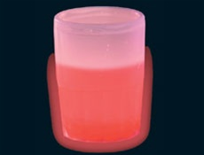 Red Glow Shot Glass
