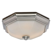 Huntley Ultra Quiet Bath Fan With Led Bulbs Included 80213