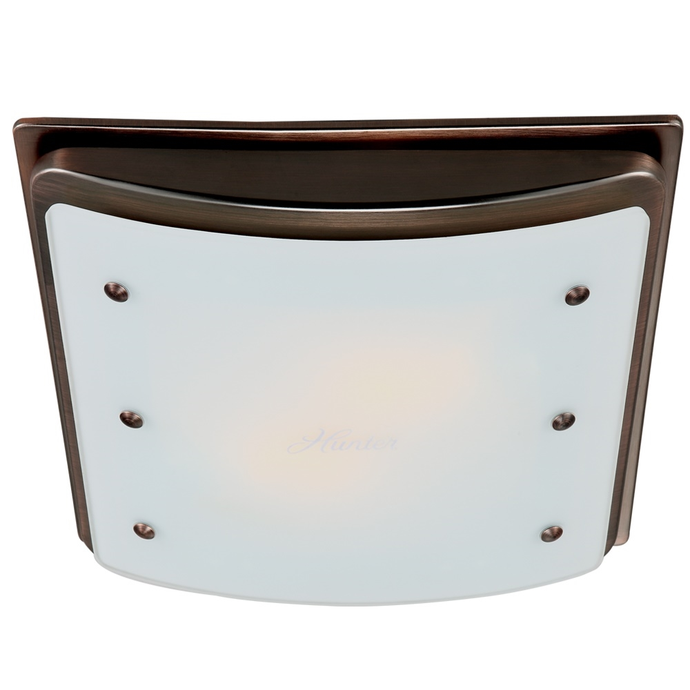 ellipse bathroom fan with light and nightlight imperial bronze frame