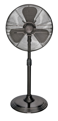 "16"" Oscillating Stand Fan in Onyx Copper (90439)"
