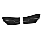 1970-72 Chevelle Coupe Pre-Assembled Rear Panels - Pair