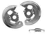 1967-68 Camaro Front Disc Brake Backing Plates - Pair