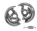 1969 Camaro Front Disc Brake Backing Plates - Pair