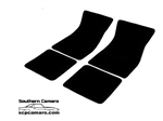 1967-69 Camaro Carpet Floor Mats 4-pc
