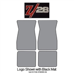 1967-69 Camaro Z28 Logo Carpeted Floor Mats 4-pc