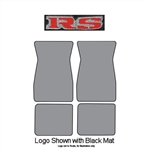 1967-69 RS Logo Carpet Floor Mats 4-pc