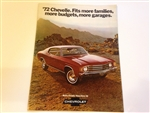 1972 Chevelle Sales Brochure - Original GM