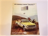 1972 Chevrolet Truck Sales Brochure - Original GM