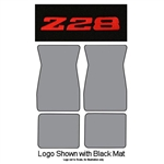 1970-74 Z28 Carpet Floor Mats 4-pc