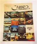1975 Camaro Dealer Sales Brochure - Original GM