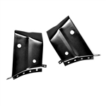 68-72 Chevelle Trunk Hinge Extension, Pair