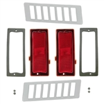 1970-72 Chevelle Quarter Marker Light Set, 10-Pcs
