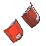 1973-86 GM Truck Tail Light Lenses RH, LH Pair