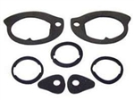 1967-69 Camaro Door Handle & Lock Gasket Kit