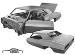 1969 Camaro Coupe Body Shell Assembly