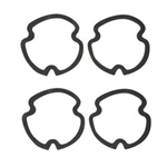 1971-72 Chevelle Tail Light Set Gasket Set, 4-Pc