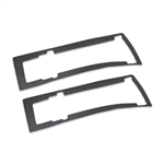1968 Chevelle Tail Light Bezel Gaskets, Pair