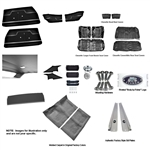 1969 Chevelle Coupe Bench Seat Interior Kit