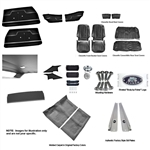 1971-72 Chevelle Coupe Interior Kit