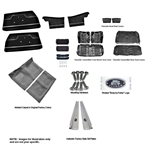 1971-72 Chevelle Convertible Interior Kit