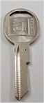 Original GM Door & Trunk H-Code Key Blank
