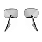 1970-72 Chevelle Door Mirror RH & LH - Pair
