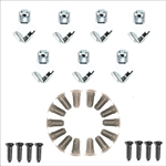1967-69 Camaro Firebird Door Panel Hardware Kit 36-pc