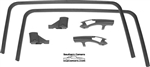 1978-81 F-Body Fisher T-Top Molding 6-Pc Kit