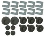 1967-69 Camaro Fender Bolt Kit 22-Pc Kit