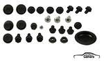1968-69 Camaro Door Hardware Mounting Kit