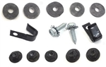 67-81 F-Body Heater Box Mounting Hardware Kit w/o AC