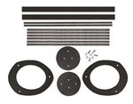 1967-68 Camaro Firebird Dash Air Duct Seal Kit