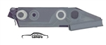 1967-69 Camaro Quarter window Mounting Plate RH