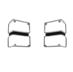 1971 Chevelle Chrome Park Light Bezels, Pair, 2-Pc