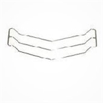 1971 Chevelle SS Grille Trim, 5-Pc