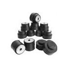 1968-72 Chevelle Coupe Frame Bushing Kit, 12-Pc