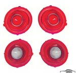 1972-73 Camaro Standard Tail Lenses Kit w/o Chrome Ring