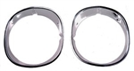 1970-73 Camaro Headlight Bezels - Pair