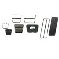1972-81 Camaro Man Trans/Disc Br Pedal Pad & Trim Kit