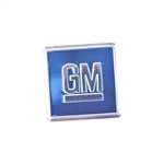 1968-73 Camaro GM Door Decal - Blue
