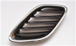 Saab 9.3 2003-2007 UPPER DRIVERS SIDE GRILLE 12797997