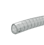 6' PVC Hose, with galvanized steel helix
