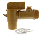 "2"" Drum Valve - FDA Approved 55 Gallon Drum Faucet"
