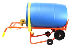 55 Gallon Poly Drum Cart - Wesco 50BTW