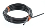 "1/4"" O.D.x 20' UV Black Chemical Tubing"