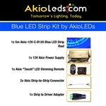 AkioLED Blue LED Strip Kit